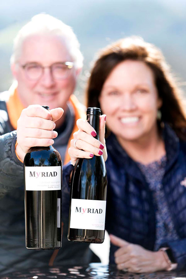 Mike and Leah Smith, Myriad Cellars